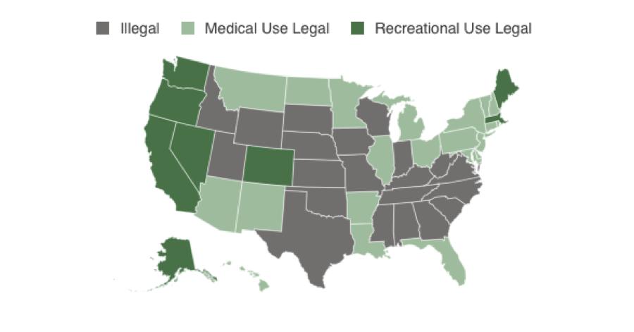 Us States Like Alaska California Colorado Oregon Massachusetts Nevada And Washington And Countries Like Uruguay And Jamaica Where Cannabis For
