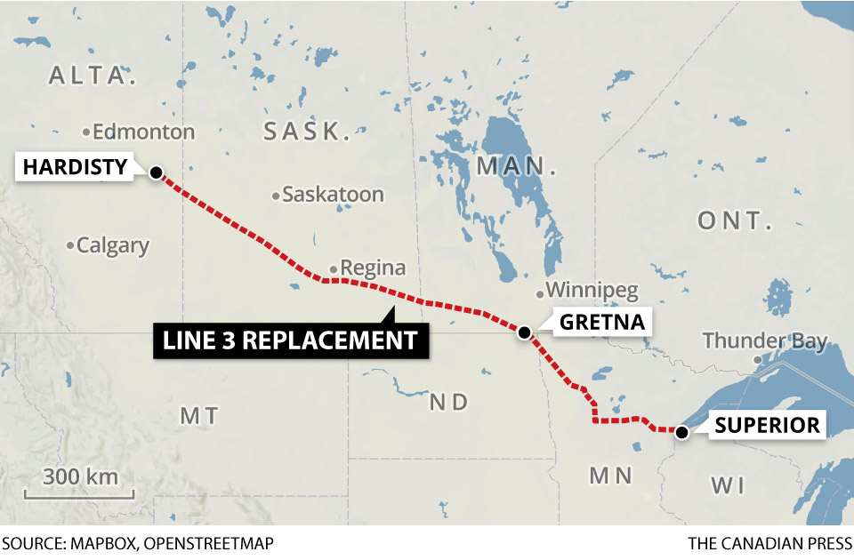 Faint hope remains for stopping Enbridge's Line 3